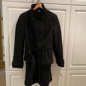 ASOS Ladies Peplum Coat Size 12US